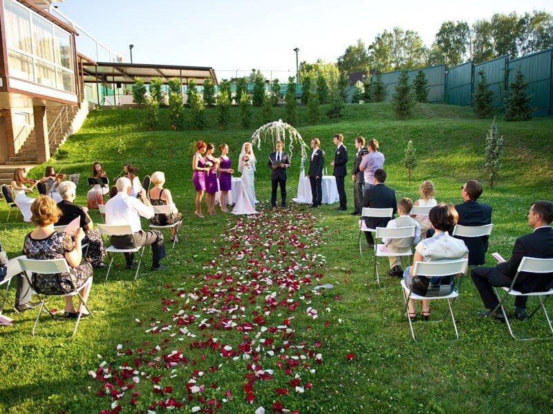 Выездное свадебное мероприятие